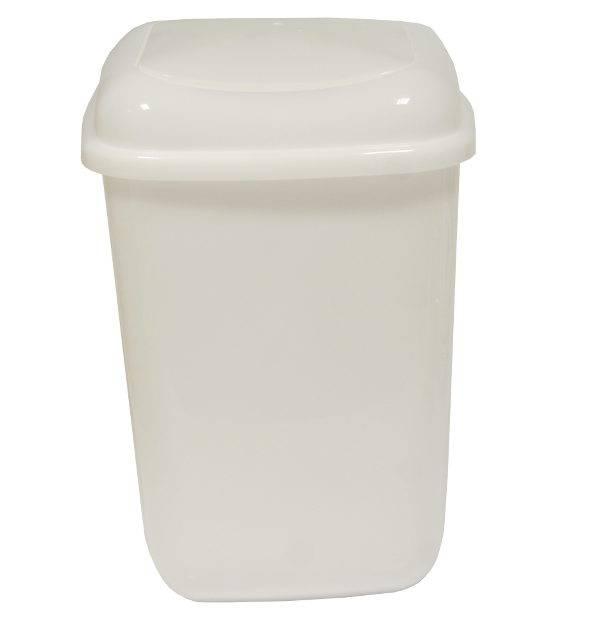 Kôš na odpad QUATRO 28 l biely neutrál