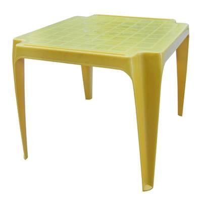 Ipea dětský plastový stoleček žlutý