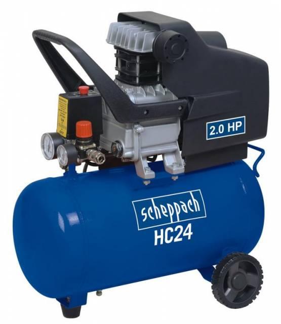 Kompresor HC24/HC25, olejovy SCHEPPACH edition ww