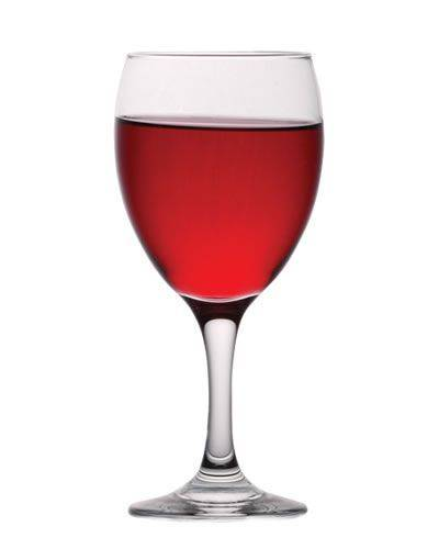 Pohar na víno Č 340ml EMPIRE sklo,6ks ww