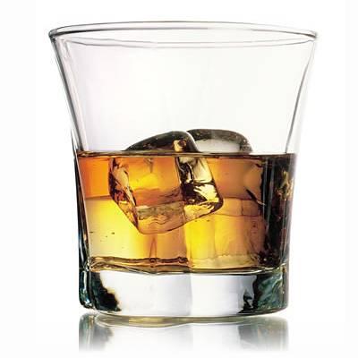 Pohar na whisky 280ml TRUVA ciry,sklo,6ks sada WW