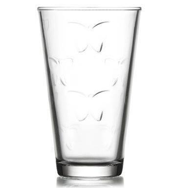 Pohár na vodu 325ml KELEBEK číry, sklo, 6ks sada