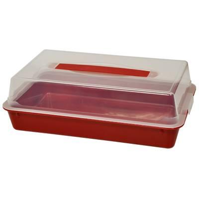 Dóza plastová na potraviny 16x26,5x5cm