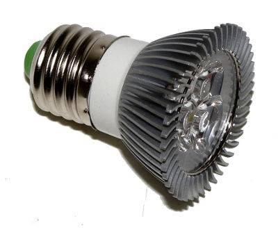 Žiarovka LED E27 3W studená