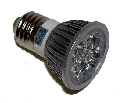 Žiarovka LED E27 4W teplá
