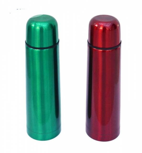Termoska SKVELER 0,35L nerez farebná, metalická