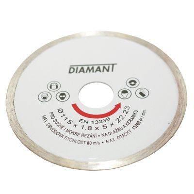 Kotúč diamantový plný 230mm