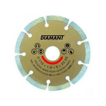 Kotúč diamantový 115x22,2x2mm, SEGMENT