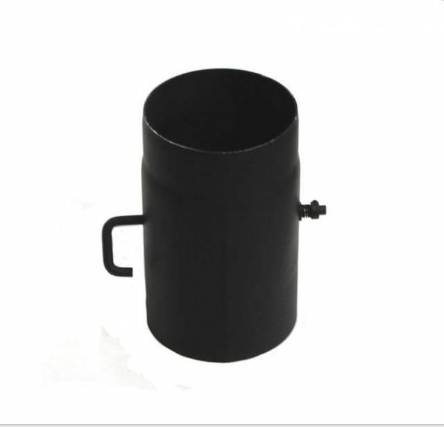 Komínová klapka s krátkym tiahlom, priemer 160 mm