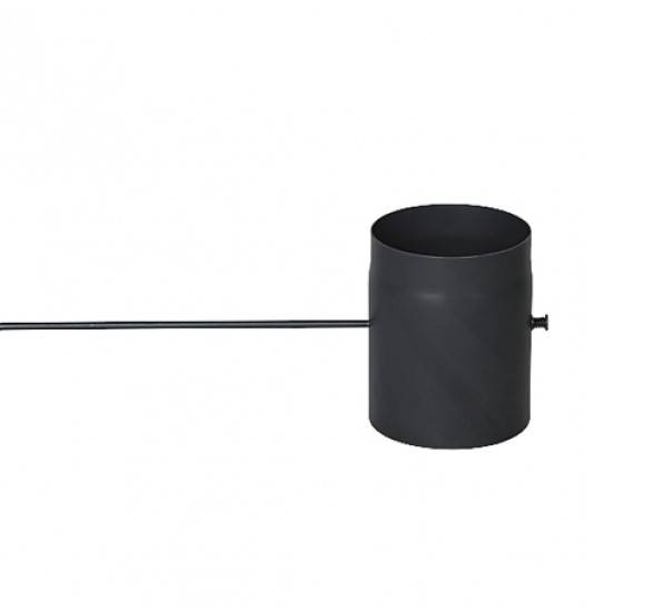 Komínová klapka s dlhým tiahlom, priemer 160 mm