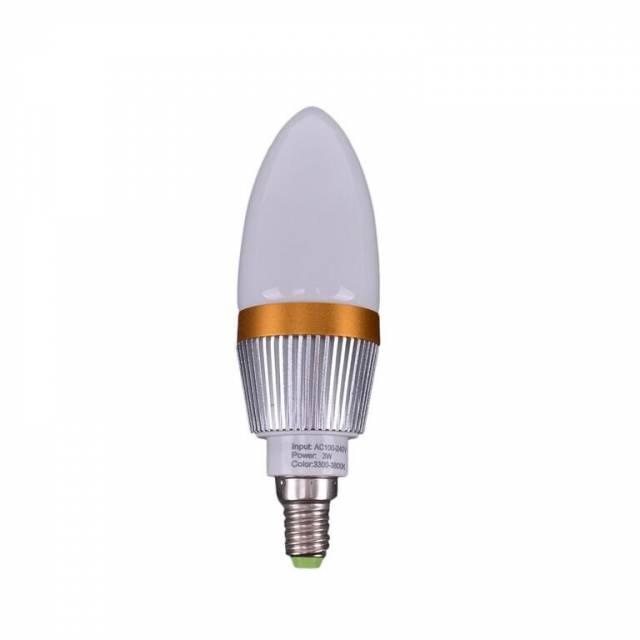 Ziarovka LED E14 3W tepla 280lm xxx
