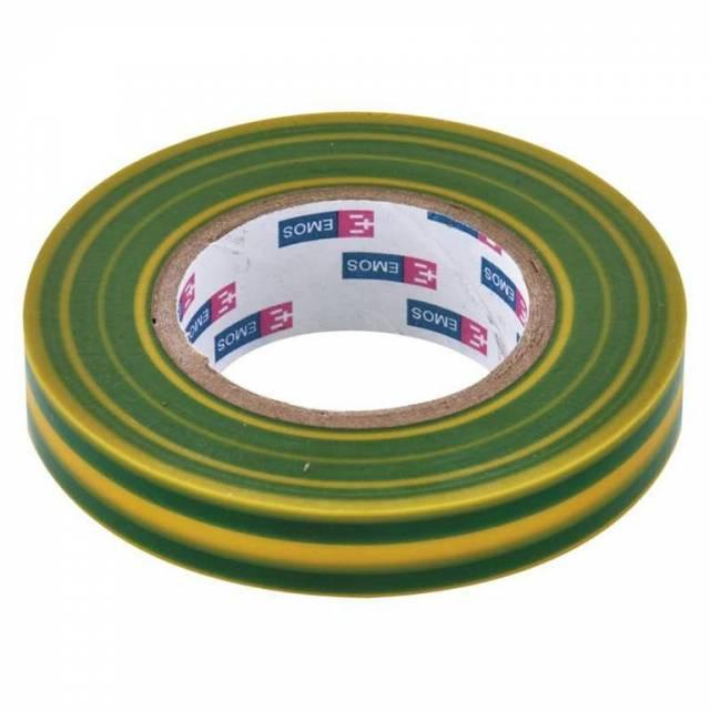 Páska izolačná PVC 15 mm/10 m, žlto-zelená