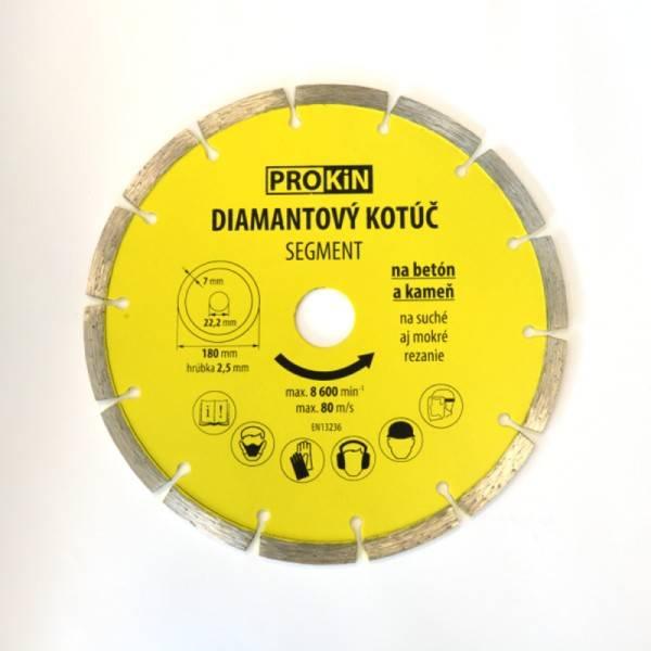 Kotúč diamant 180x22,23mm SEGMENT PROKIN
