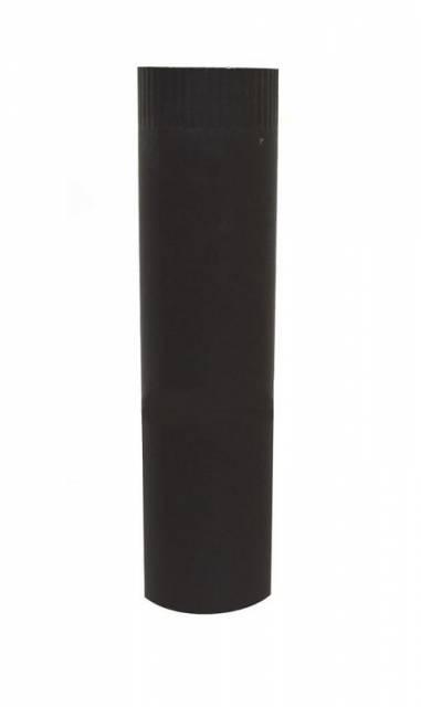 Rúra dymová farbená o 120 mm / 50 cm čierna