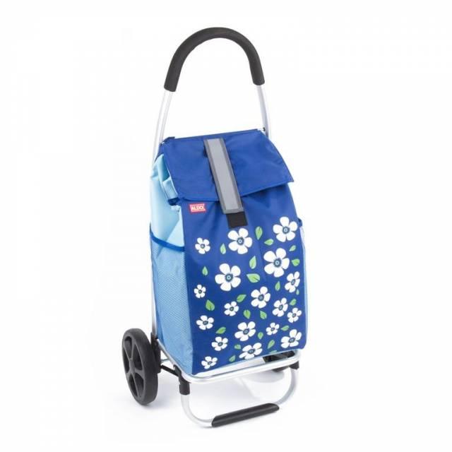 Nákupná taška na kolieskach PARIS modrá