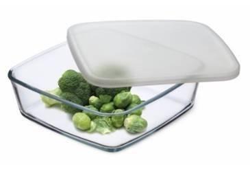 Simax Hranatý zásobník na potraviny 1700 ml