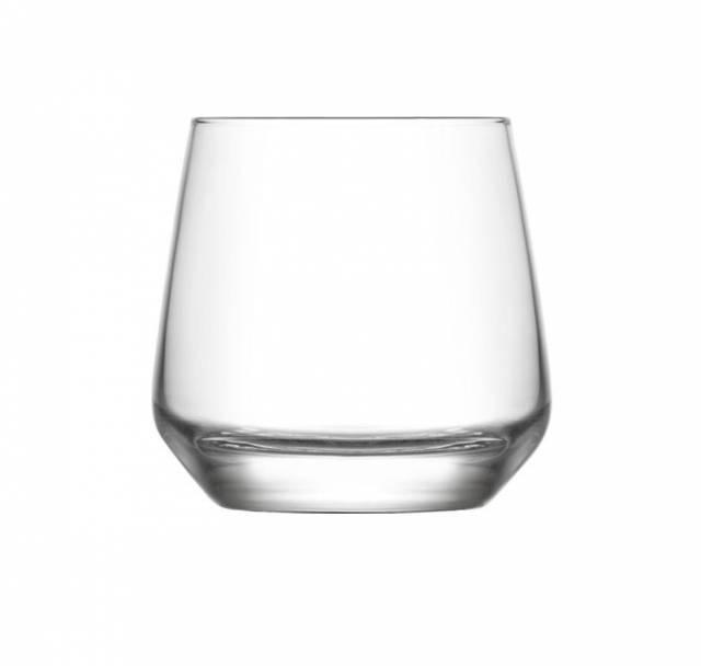 Pohár na whisky LAL, 345 ml, číry, sklo, 6ks sada