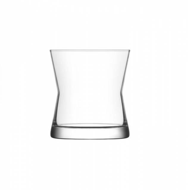 Pohár na whisky DERIN, 300 ml, číry, sklo, 6ks sada