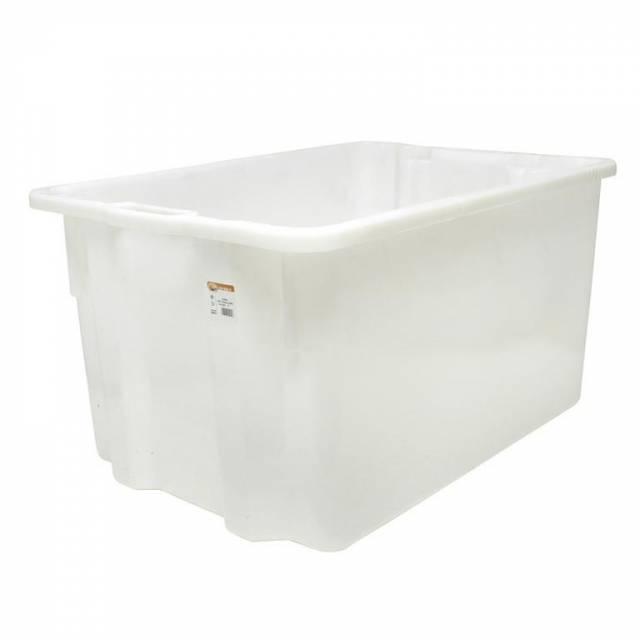 Box prepravný 65l biely plastový
