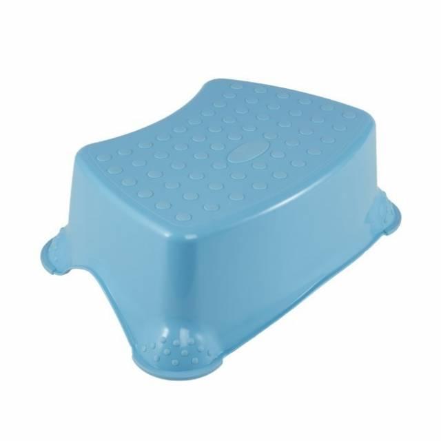 Schodík detský, 40,5x28,5x14cm, modrý, protišmykový