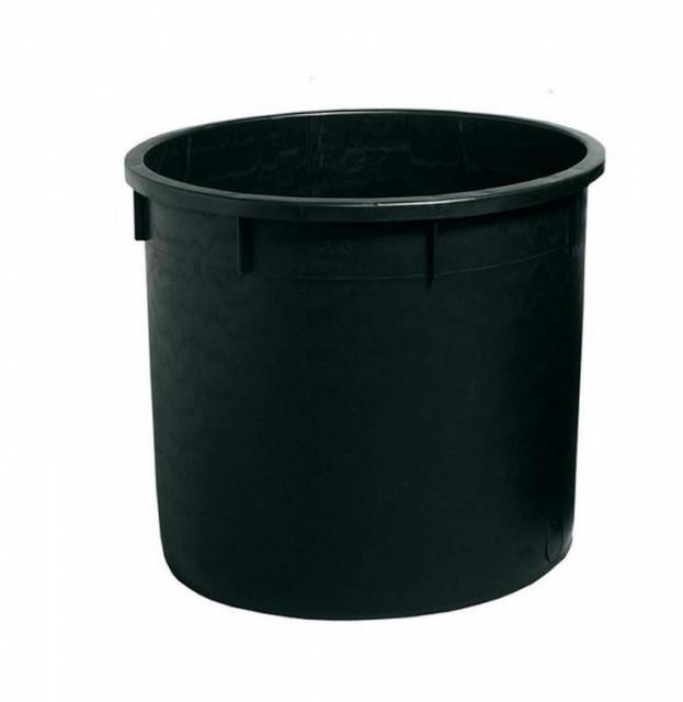 Nádoba na dažďovú vodu, 500 l, čierna