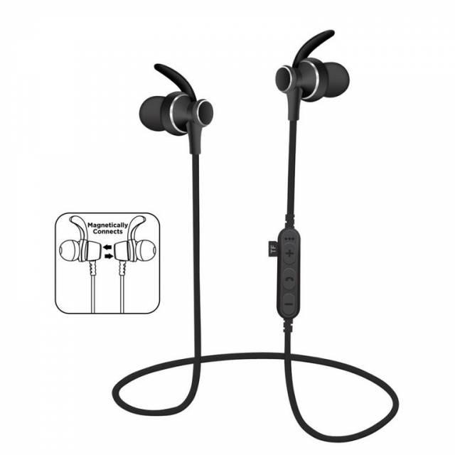 Sluchadla bezdrotove PM1060 BLUETOOTH cierne + vstavany MP3 prehravac + MIC xxx