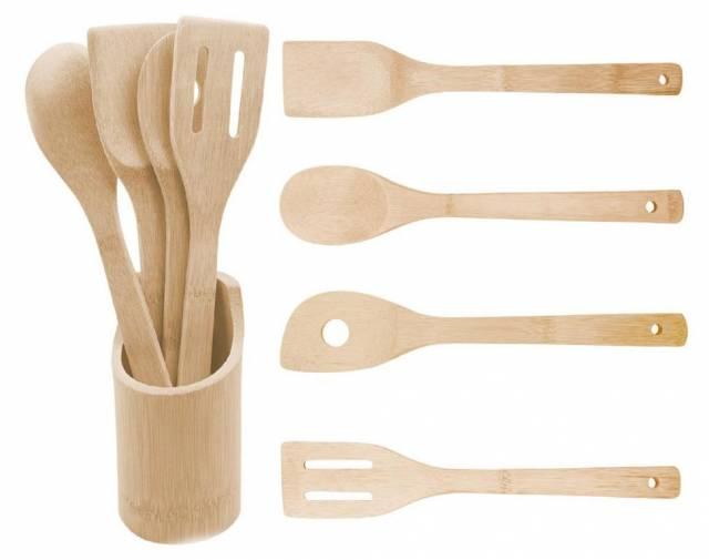 Vareška bambusová, sada mix 5 kusov