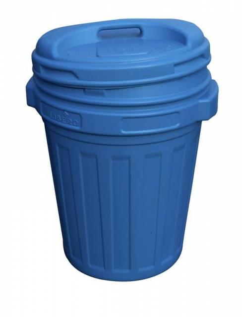 Kinekus Kôš na odpad 24773 70 l modrá