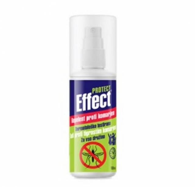 Repelent proti komárom EFFECT PROTECT 100ml sprej