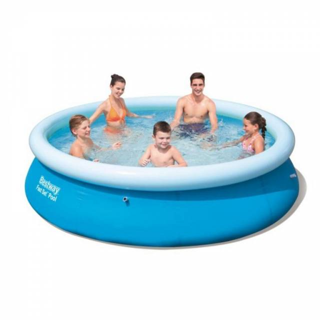 Bazén nafukovací kruhový o 305x76 cm bez filtrácie Bestway Fast Set Pool