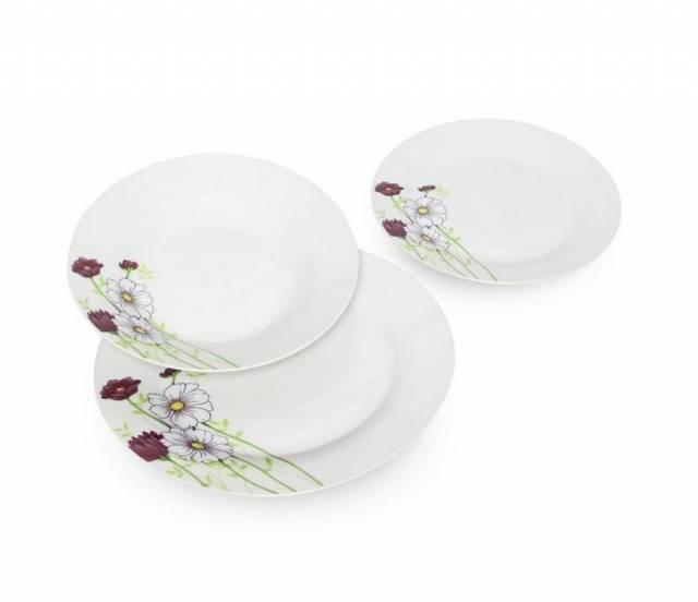 Tanierová sada 18-dielna MOLY lúčne kvety porcelán Skveler