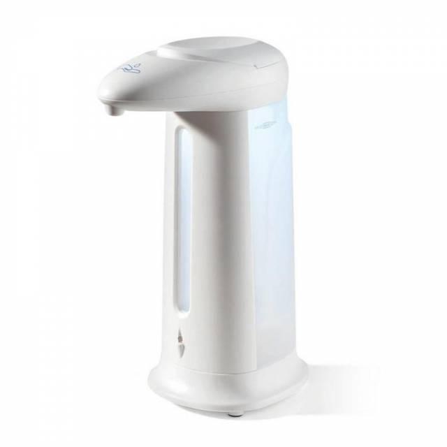 Dávkovač tekutého mydla bezdotykový 330ml automatický batériový