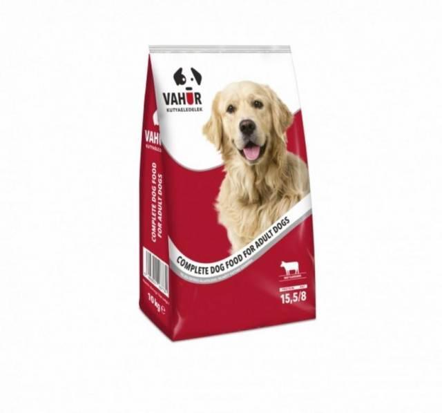 Granule/krmivo pre psov VAHUR 10kg, hovädzie