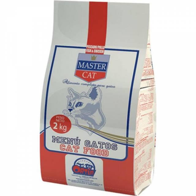 Granule/krmivo pre mačky Master Cat 2kg