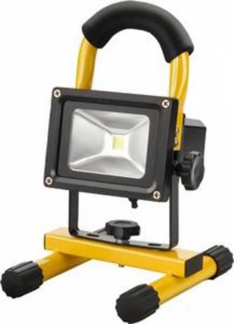 Svietidlo LED nabíjateľné, 10W, 800lm/100cd