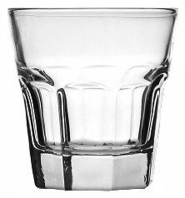 Pohár na vodu Marocco 14 cl, číre sklo