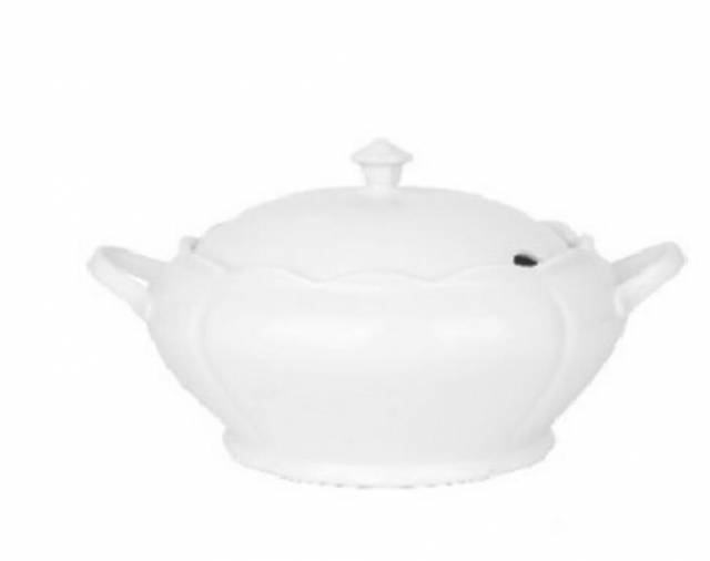 Misa na polievku 3,8l okrúhla, porcelán