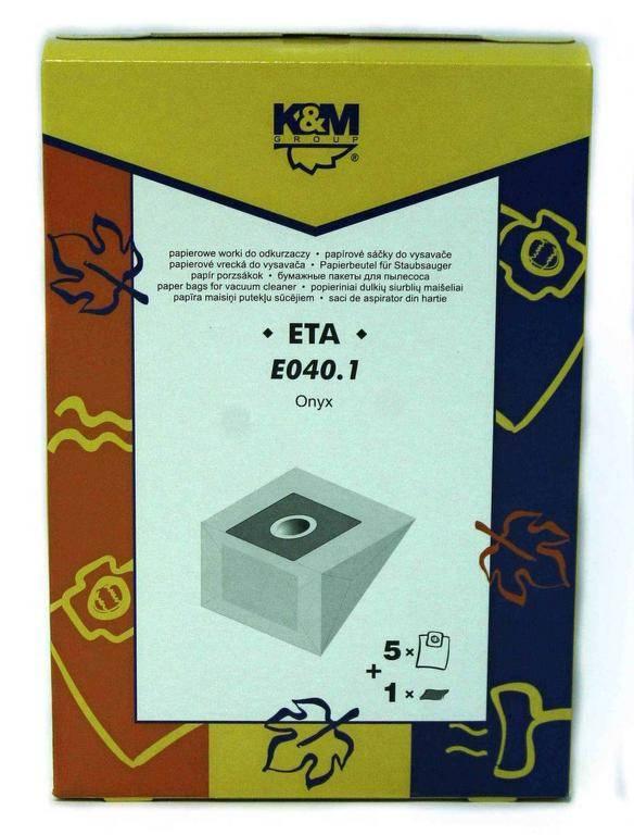 5e090bf49 Sáčky do vysávača ETA 040.1 5ks+1filter   Kinekus