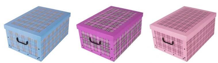 740d42e31 Box/krabica úložná mix 3 farieb   Kinekus