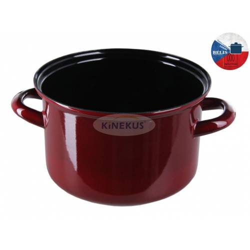 Hrniec BORDO 24cm / 6,1 l, smalt., belis
