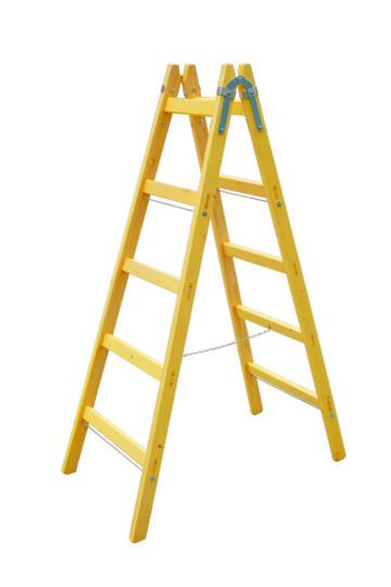 Drevený rebrík 5 priečkový
