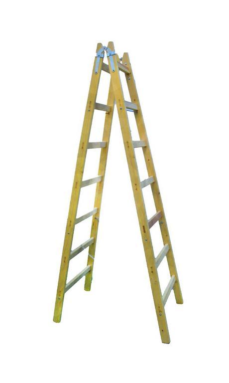 Drevený rebrík 7 priečkový