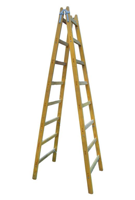 Drevený rebrík 8 priečkový